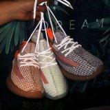 Les hommes chaussures feux Noctilucent chaussures de sport en dentelle de luminescence