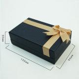 Luxury rígido personalizado papel de fantasia de caixas com arco