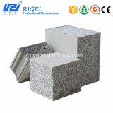 EPS Sandwich de cemento prefabricados Panel de pared resistente al agua de la Casa de Aislamiento Acústico ignífugo