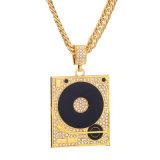 Juwelen van de Halsband van DJ van de Ketting van de Diamant van Hip Hop van de Juwelen van de manier 18K 24K de Gouden Zilveren voor Mensen
