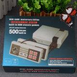 Construído em 500/620 jogos clássicos retro Mini TV portátil de vídeo consolas de jogos