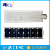 réverbère solaire Integrated de la lampe DEL de jardin de détecteur de 40W 5W
