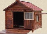 Im Freien preiswertes Hundehaus, hölzerne Hundehundehütte, Hunderahmen für Verkauf