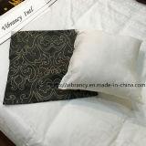 Cubierta de algodón de llenado de Poli Hotel decorativos almohada