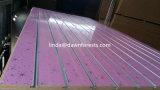 7 y 11 de PVC de MDF de ranura las ranuras se enfrentan con aluminio