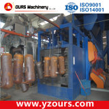 Ligne d'enduit automatique de poudre avec le convoyeur supplémentaire pour des produits en métal