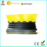 Bolso tejido pila de discos el protector de goma del cable de 3 canales con CE