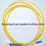 ST-LC Sm simple Cable de fibra óptica