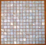 Muschel Mosaik Rand an der Wand