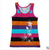 Commerce de gros de l'usure d'enfants T-shirt, Girl Shirt beaucoup de stock
