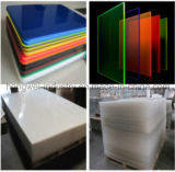 Moldeada decorativa Hoja de acrílico transparente para muebles (HW-CA)
