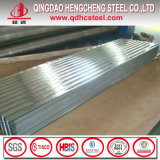 Лист металла толя Corrugated алюминиевого цинка Coated стальной
