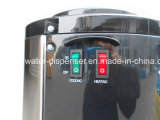 Refrigerador de água de aço inoxidável elegante com furacão de segurança para crianças