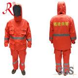 Impermeables Bomberos traje de lluvia para Rescue (QF-001)