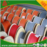 La base de cobre con aislamiento de PVC y cable de control forrado