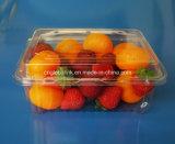 Плодоовощ сбывания изготовления коробка горячего пластичного упаковывая OEM 500 грамм одобренный УПРАВЛЕНИЕ ПО САНИТАРНОМУ НАДЗОРУ ЗА КАЧЕСТВОМ ПИЩЕВЫХ ПРОДУКТОВ И МЕДИКАМЕНТОВ принимает