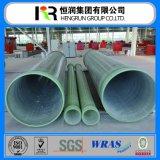 Tubo compuesto del plástico reforzado fibra de vidrio GRP FRP
