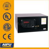 Uipa un coffre-fort de l'hôtel de carte de crédit avec serrure électronique (D-23EF- BLK)