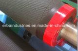 Rolo das peças sobresselentes de matéria têxtil que cobre a tira de borracha