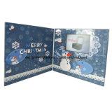 クリスマスのためのカスタムグリーティングのビデオカード