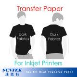 192GSM het Document van de Druk van de Overdracht van de T-shirt van Inkjet voor Donkere Stoffen (stc-T03)