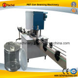 El plástico puede cosiendo la máquina