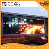 Economia de energia ao ar livre que funde a tela de indicador do diodo emissor de luz da cor cheia P6.25