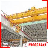 Solución rentable de la grúa de puente, grúa de arriba de la viga doble de la LH