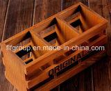 Diseño clásico personalizada ecológica Caja de madera para el almacenamiento de perfumes