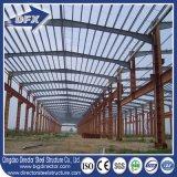 Costruzione di edifici prefabbricata del magazzino del gruppo di lavoro delle strutture d'acciaio