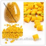 per il batch matrice di colore di colore giallo dell'elemento portante dell'animale domestico del PE pp della plastica