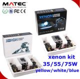 H1 / H3 / H4 / Hb4 / H7 / 9005/9006 Lâmpada Super White Blue HID Lâmpada Kit Quartz Glass Xenon