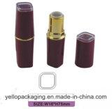 Tube de empaquetage de rouge à lievres de rouge à lievres de rouge à lievres vide en gros de conteneur (YELLO-153)