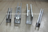 China Manufacturer Galvanized Steel C em forma Slotted Unistrut Channel