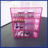 Organisateur acrylique de mémoire de tiroir de renivellement de mode avec des diviseurs