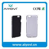 Côté portatif de pouvoir de cas de chargeur de téléphone certifié par RoHS de FCC de la CE pour l'iPhone 6 1500mAh