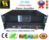Fp7000 Subwooferのキャビネットボックスアンプ、安定した電力増幅器2オームの