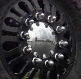 21mm Silver Plastic Wheel Lug Nut Bolt Hex Cap Cover