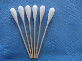 Одноразовые стерильные деревянные хлопка зондом для 150*22мм