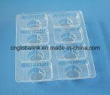 Caja de empaquetado de empaquetado de la bandeja del chocolate plástico disponible de la alta calidad