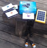 sistema claro solar dos jogos da iluminação do diodo emissor de luz de 4PCS 1W para os quartos Home