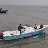 Barco de la fibra de vidrio del barco pesquero de Liya los 25ft con venta del motor