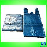 Пластичный мешок несущей HDPE вкладыша выжимк с ручкой