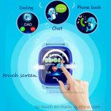 Resistente al agua IP67 Kids Tracker GPS reloj con pantalla táctil (D25).