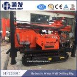 Plate-forme de forage rotatoire utilisée par Hfj200c de puits d'eau à vendre