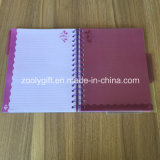 Cuaderno de espiral con separadores Tapa dura cuadernos de ejercicios suaves