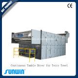 Essiccatore di rifinitura di caduta di rilassamento del tessuto con il sistema di riscaldamento del gas