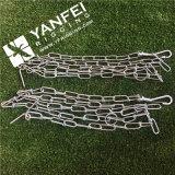 Cadena de zinc doble plateado Loope