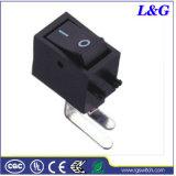 L'alimentation 6A T125/55 mini-bouton Basculer Micro interrupteur à bascule (SS01)