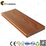 Nós Decking de madeira do sólido da grão WPC do projeto---Resistir ao rachamento